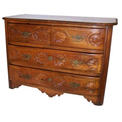 18th Century French Walnut Chest of Drawers