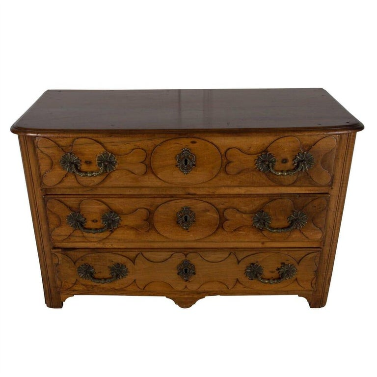 Louis XVI 18th Century French Walnut Commode For Sale