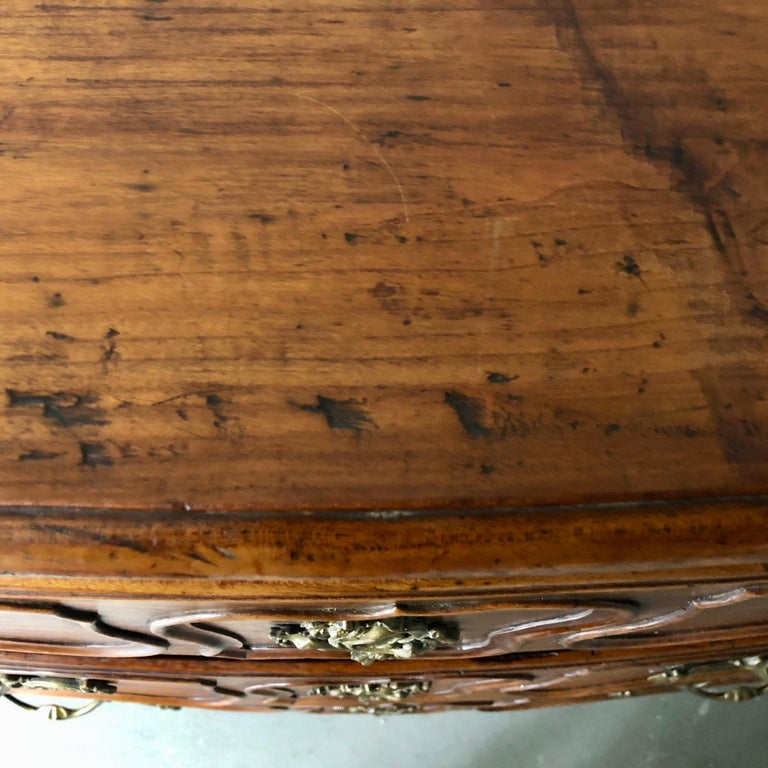 18th Century French Walnut Commode For Sale 3