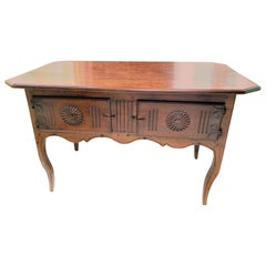 18th Century French Walnut Side Table