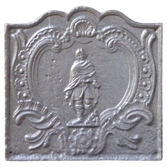18th Century French 'Winter' Fireback