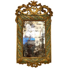 18th Century French Wood Mirror