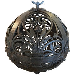 18th Century French Wrought Iron Decorative Ball