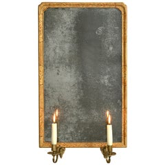 18th Century George I Period Gilt Gesso Girandole Mirror