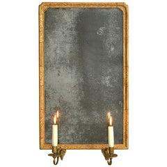 18th Century George I Period Gilt Gesso Girandole Mirror