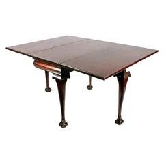 18th Century George II Drop Leaf Table