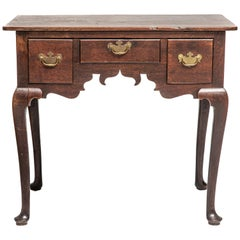 18th Century George II Oak Dressing Table