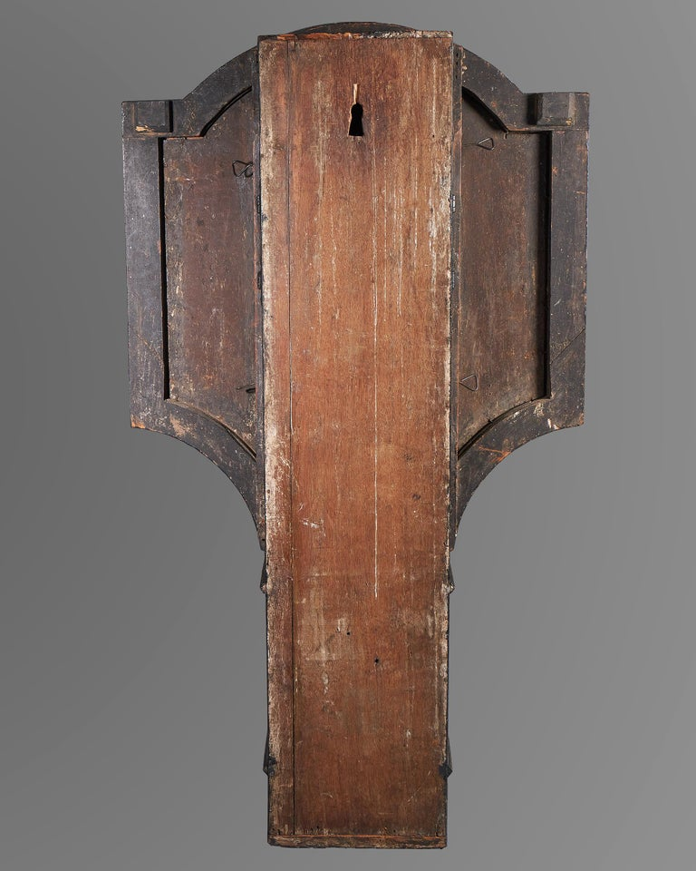 18th Century George II Tavern or Act of Parliament Clock, Circa 1740 For Sale 1