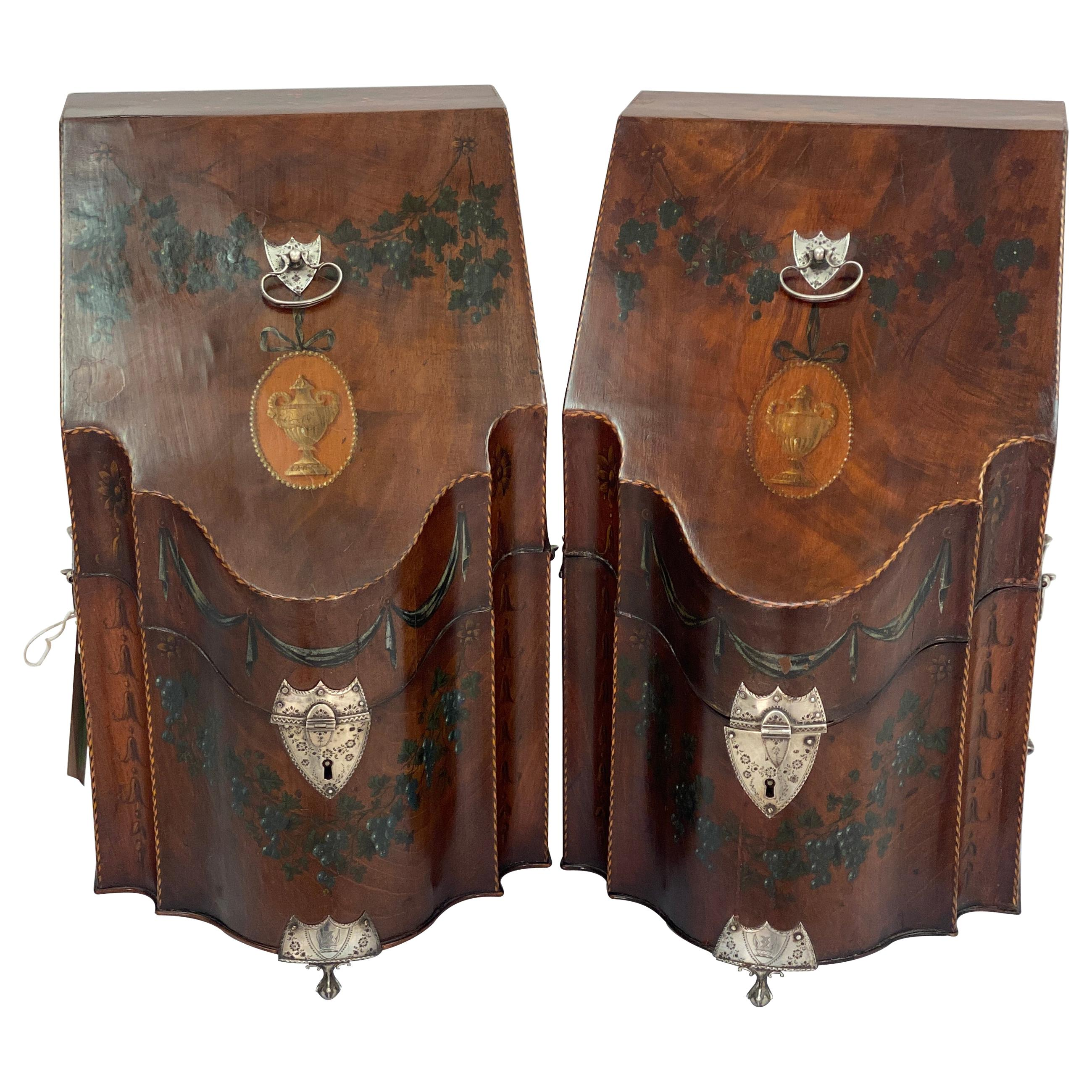 18th Century George III Knife Boxes