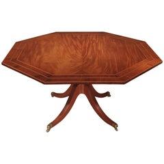 18th Century George III Period Mahogany Octagonal Breakfast Table