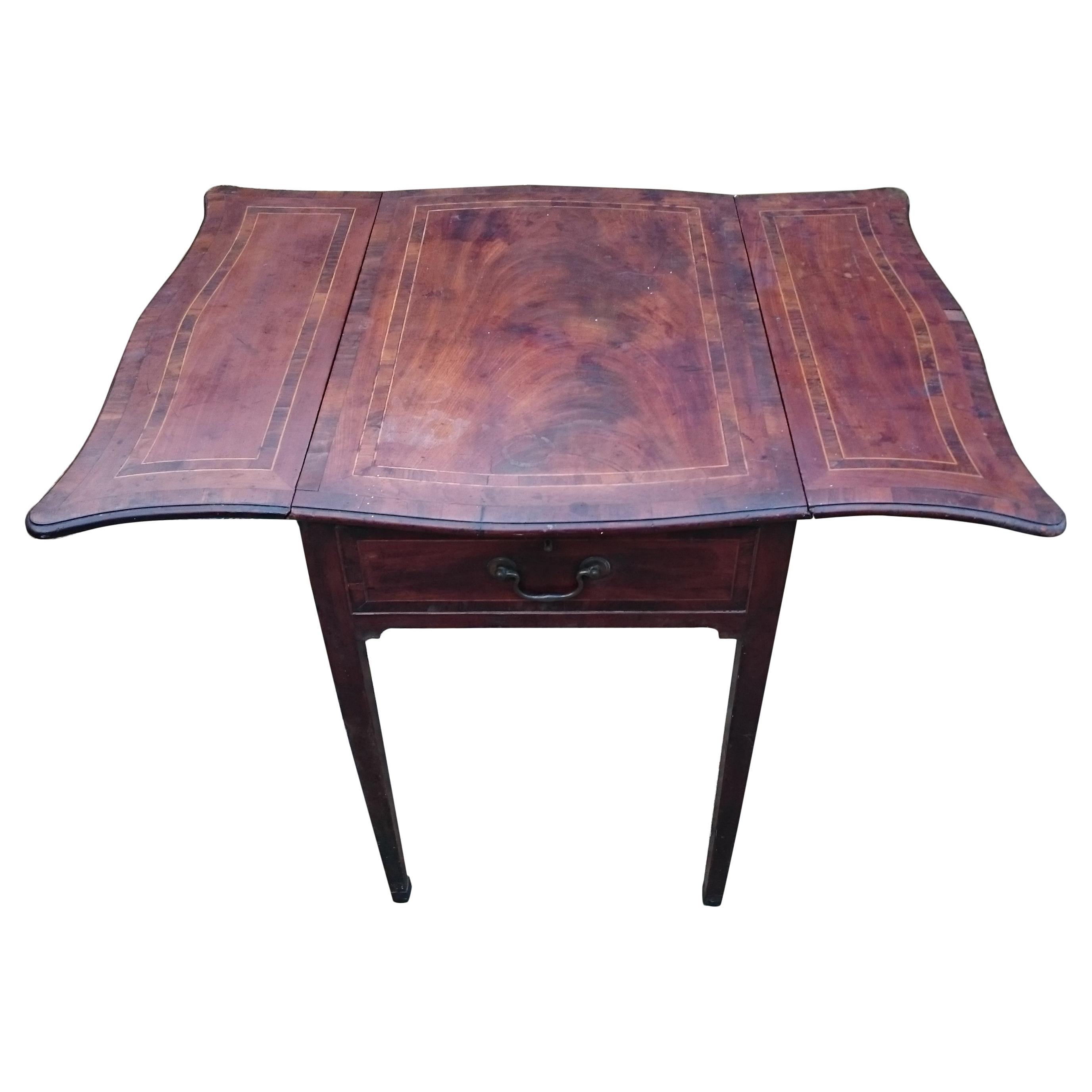 18th Century George III Period Mahogany Pembroke Table