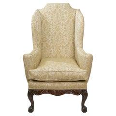 18th Century George III Wing Chair