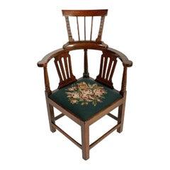 18th Century Georgian Corner Arm Chair