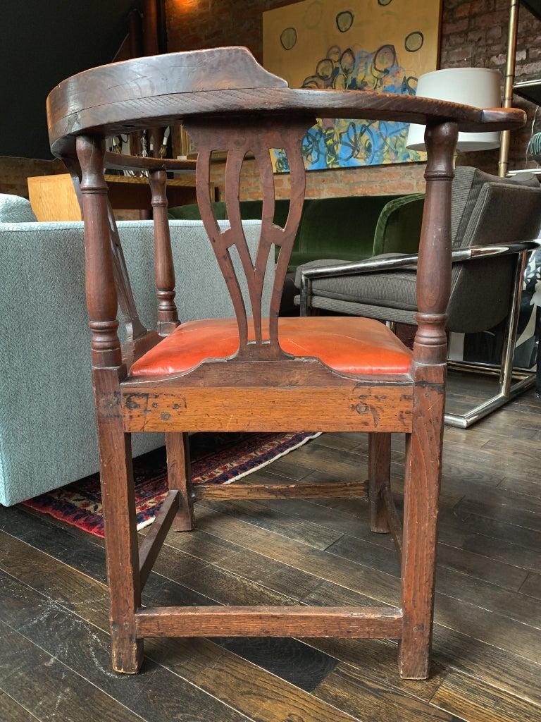 18th Century Georgian Corner Chair 5