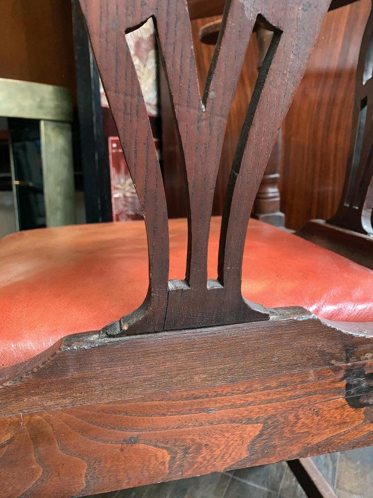 18th Century Georgian Corner Chair 7