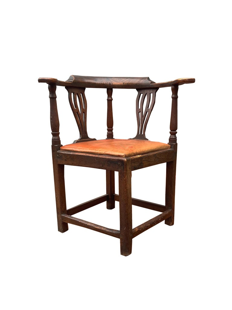 George II 18th Century Georgian Corner Chair