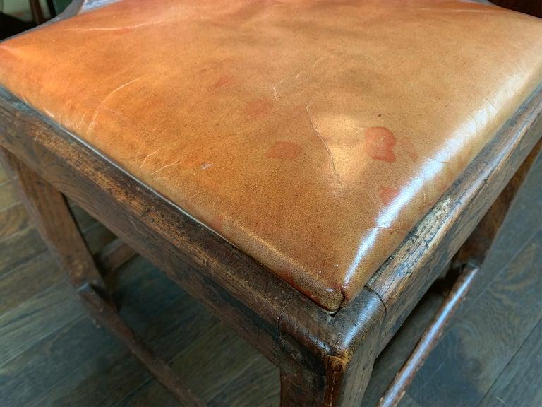 18th Century Georgian Corner Chair 1