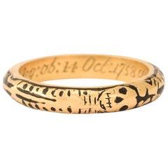18th Century Georgian Full Body Skeleton Ring