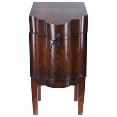 18th Century Georgian Mahogany Burl Wood Knife Box