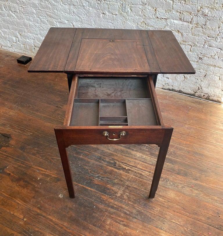 18th Century Georgian Mahogany Metamorphic Architect's Table For Sale 2