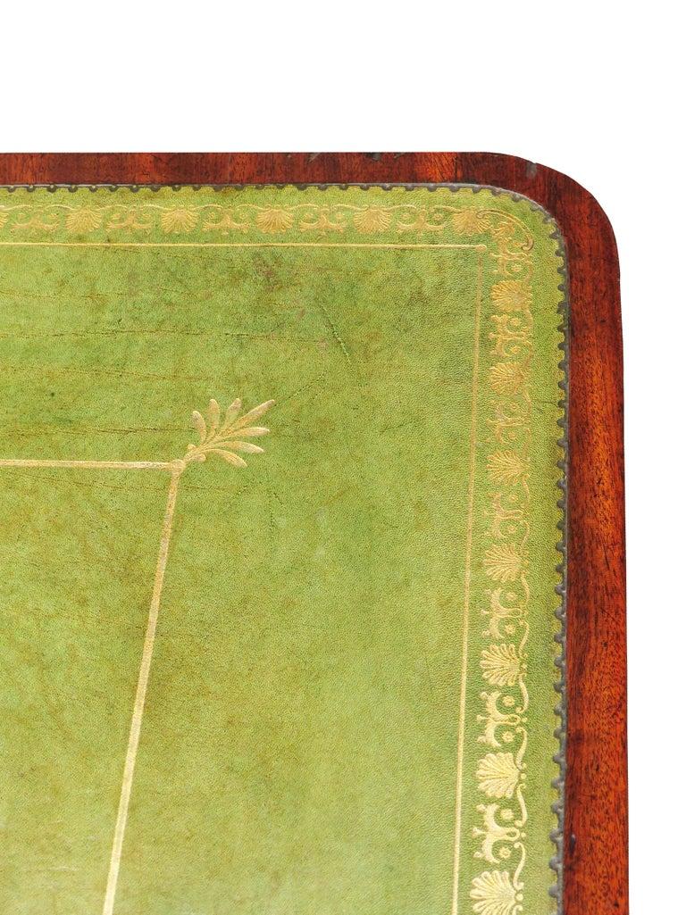 18th Century Georgian Mahogany Partners Antique Writing Table 4