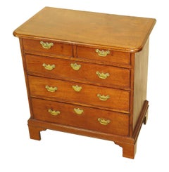 18th Century Georgian Mahogany Small Chest of Drawers