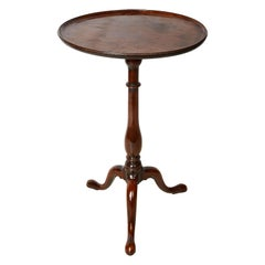 18th Century Georgian Period Mahogany Occasional Table