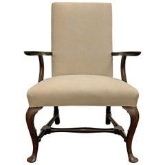18th Century Georgian Queen Anne Chair