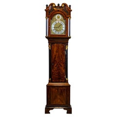 """18th Century Grandfather Clock """"Liverpool made case"""" from the George III times"""