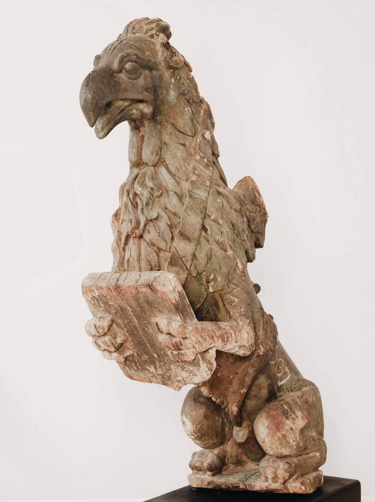 Wood 18th Century Griffin
