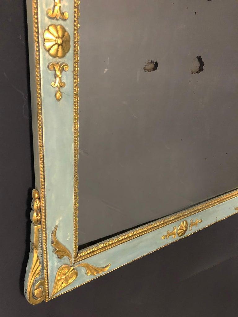 18th Century Gustavian Baroque Mirror of Swedish origin In Excellent Condition For Sale In Santander, ES