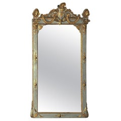 18th Century Gustavian Baroque Mirror of Swedish origin