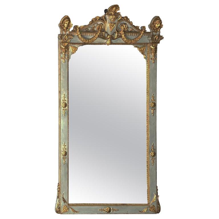18th Century Gustavian Baroque Mirror of Swedish origin For Sale