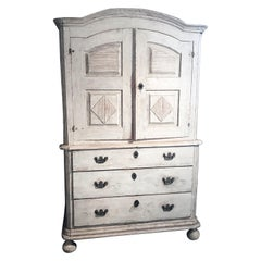 18th Century Gustavian Cabinet, Origin Sweden