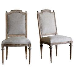 Gustavian Side Chairs