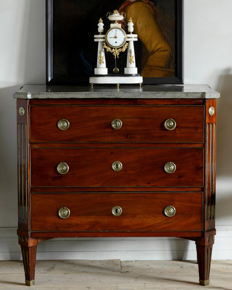 18th Century Gustavian Chest of Drawers In Good Condition For Sale In Helsingborg, SE
