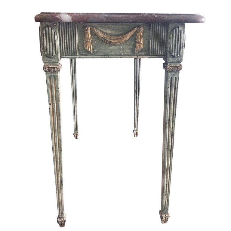 18th Century Gustavian Console Table Scandanavia In Good Condition For Sale In West Palm Beach, FL
