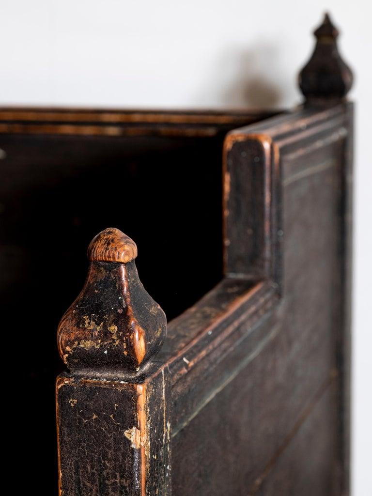 Pine 18th Century Gustavian Folk Art Sofa