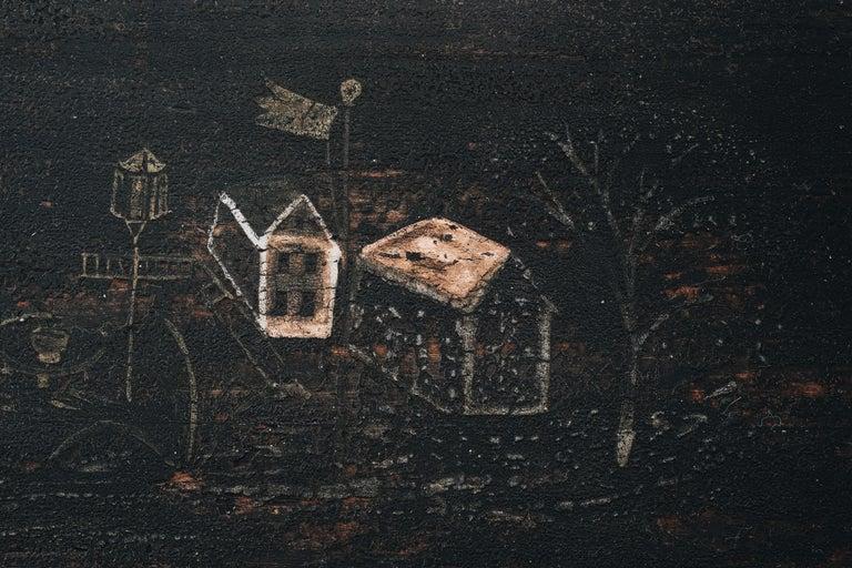 18th Century Gustavian Folk Art Sofa 1