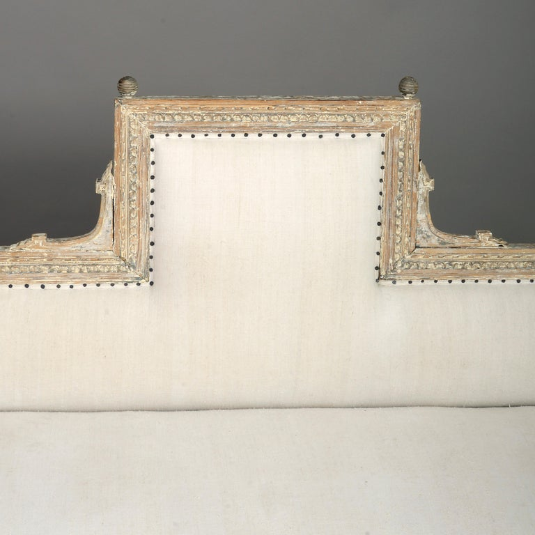 Swedish 18th Century Gustavian Period Painted Sofa For Sale
