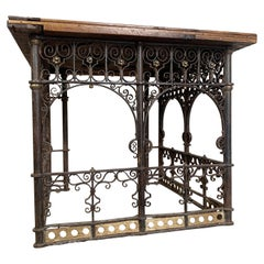 18th Century Hand Forged Wrought Iron Church Pulpit Table