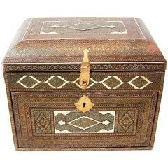 18th Century Indo-Portuguese Vargueno/Mini Cabinet