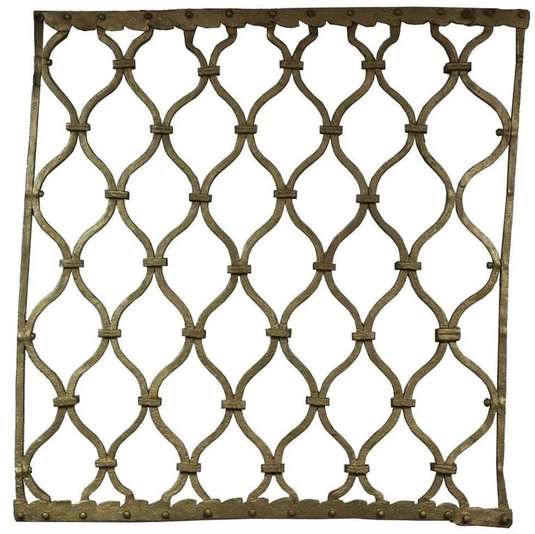 18th Century Iron Window Guard