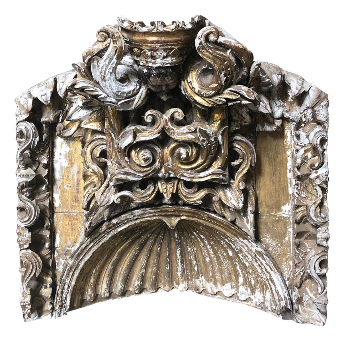 18th Century Italian Architectural Niche