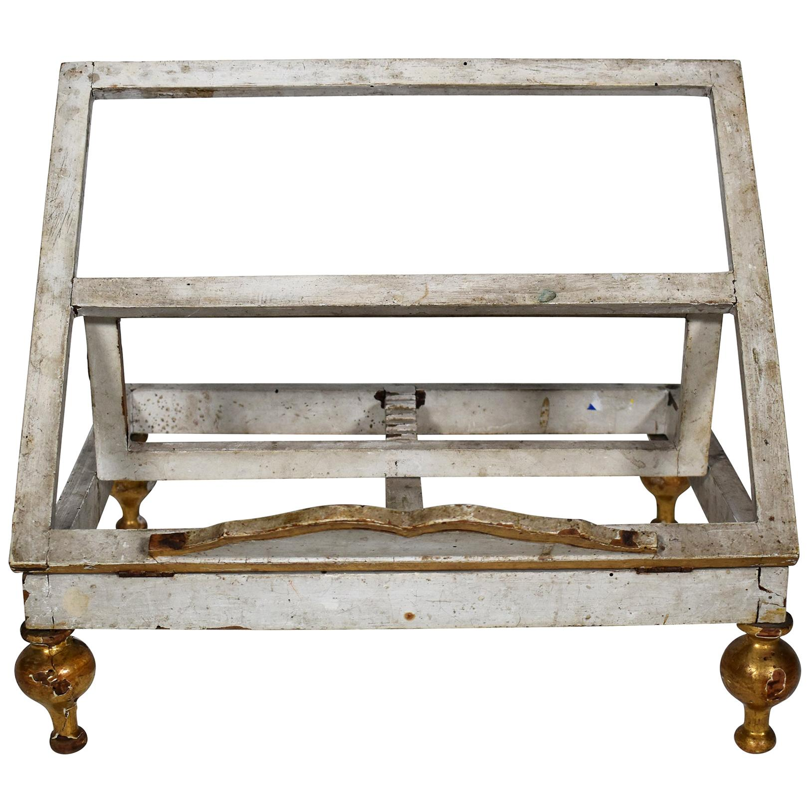 18th Century Gilded Book Stand