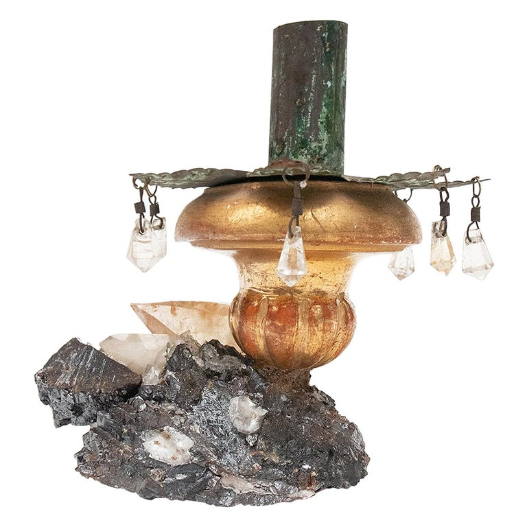 18th Century Italian Candlestick Top For Sale