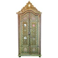 18th Century Italian Carved Wardrobe