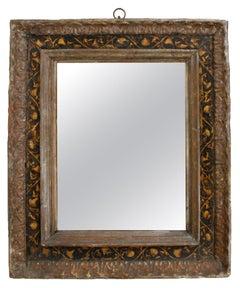 18th Century Italian Cassetta Style Framed Mirror