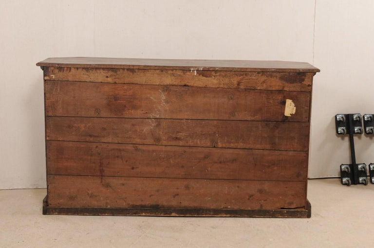 18th Century Italian Exquisitely Carved Walnut Wood Credenza Sideboard For Sale 8
