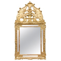18th Century Italian Gilt Wall Mirror